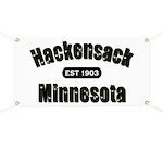 Hackensack Established 1903 Banner
