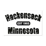Hackensack Established 1903 Mini Poster Print