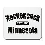 Hackensack Established 1903 Mousepad
