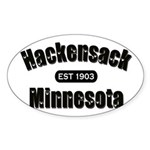Hackensack Established 1903 Sticker (Oval 10 pk)