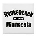 Hackensack Established 1903 Tile Coaster