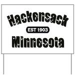 Hackensack Established 1903 Yard Sign