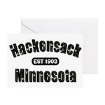Hackensack Established 1903 Greeting Card