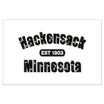 Hackensack Established 1903 Large Poster