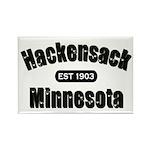 Hackensack Established 1903 Rectangle Magnet (10 p