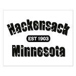 Hackensack Established 1903 Small Poster