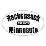 Hackensack Established 1903 Sticker (Oval 50 pk)