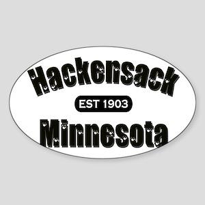 Hackensack Established 1903 Sticker (Oval)