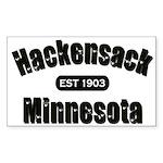 Hackensack Established 1903 Sticker (Rectangle 10