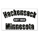 Hackensack Established 1903 Sticker (Rectangle)