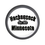 Hackensack Established 1903 Wall Clock