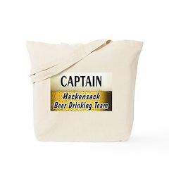 Hackensack Beer Drinking Team Tote Bag