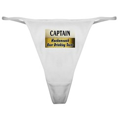 Hackensack Beer Drinking Team Classic Thong