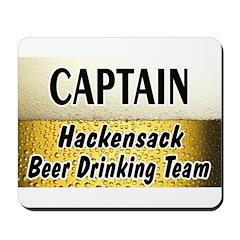 Hackensack Beer Drinking Team Mousepad
