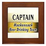 Hackensack Beer Drinking Team Framed Tile