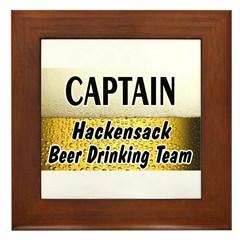 Hackensack Beer Drinking Team Framed Tile