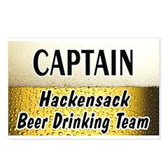 Hackensack Beer Drinking Team Postcards (Package o