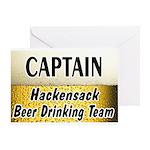 Hackensack Beer Drinking Team Greeting Card