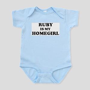 Ruby Is My Homegirl Infant Creeper
