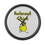 Hackensack Chick Large Wall Clock
