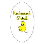 Hackensack Chick Sticker (Oval 10 pk)