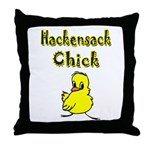 Hackensack Chick Throw Pillow