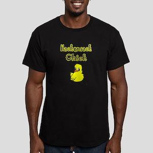 Hackensack Chick Men's Fitted T-Shirt (dark)