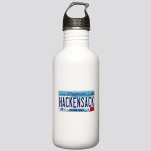Hackensack License Plate Stainless Water Bottle 1.