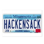 Hackensack License Plate Postcards (Package of 8)