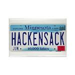 Hackensack License Plate Rectangle Magnet (10 pack