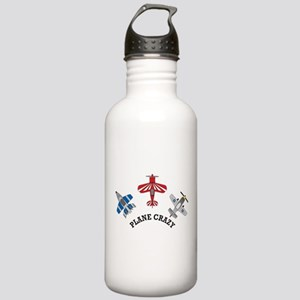 Aviation Plane Crazy Stainless Water Bottle 1.0L