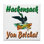 Hackensack Loon Shop Tile Coaster