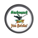 Hackensack Loon Shop Wall Clock