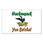 Hackensack Loon Shop Sticker (Rectangle 10 pk)