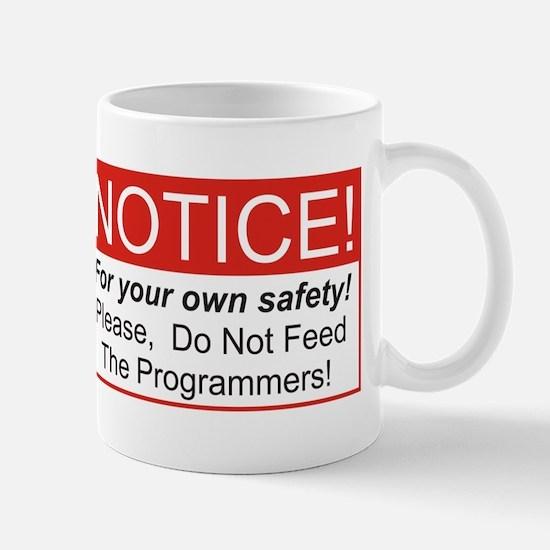 Notice / Programmers Mug