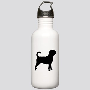 Puggle Dog Stainless Water Bottle 1.0L