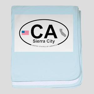 Sierra City baby blanket