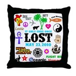 LOST Memories V2 Throw Pillow