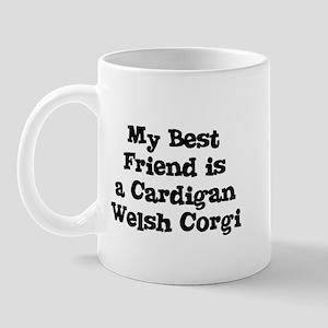 My Best Friend is a Cardigan  Mug