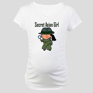 Secret Asian Girl II Maternity T-Shirt