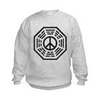 Dharma Peace Faded Kids Sweatshirt