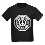 Dharma Peace Faded Kids Dark T-Shirt