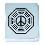 Dharma Peace Faded baby blanket