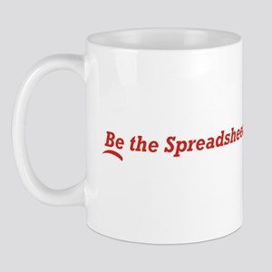 Be the Spreadsheet Mug