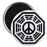 Dharma Peace Faded Magnet