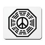 Dharma Peace Faded Mousepad
