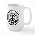 Dharma Peace Faded Large Mug