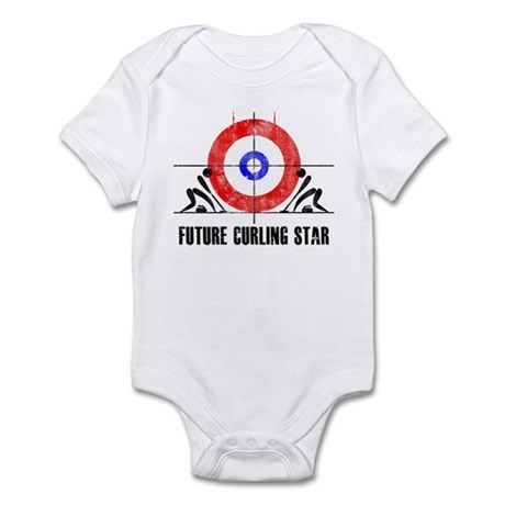 Future Curling Star Infant Bodysuit