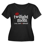 Twilight Mom Women's Plus Size Scoop Neck Dark T-S