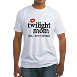 Twilight Mom Fitted T-Shirt